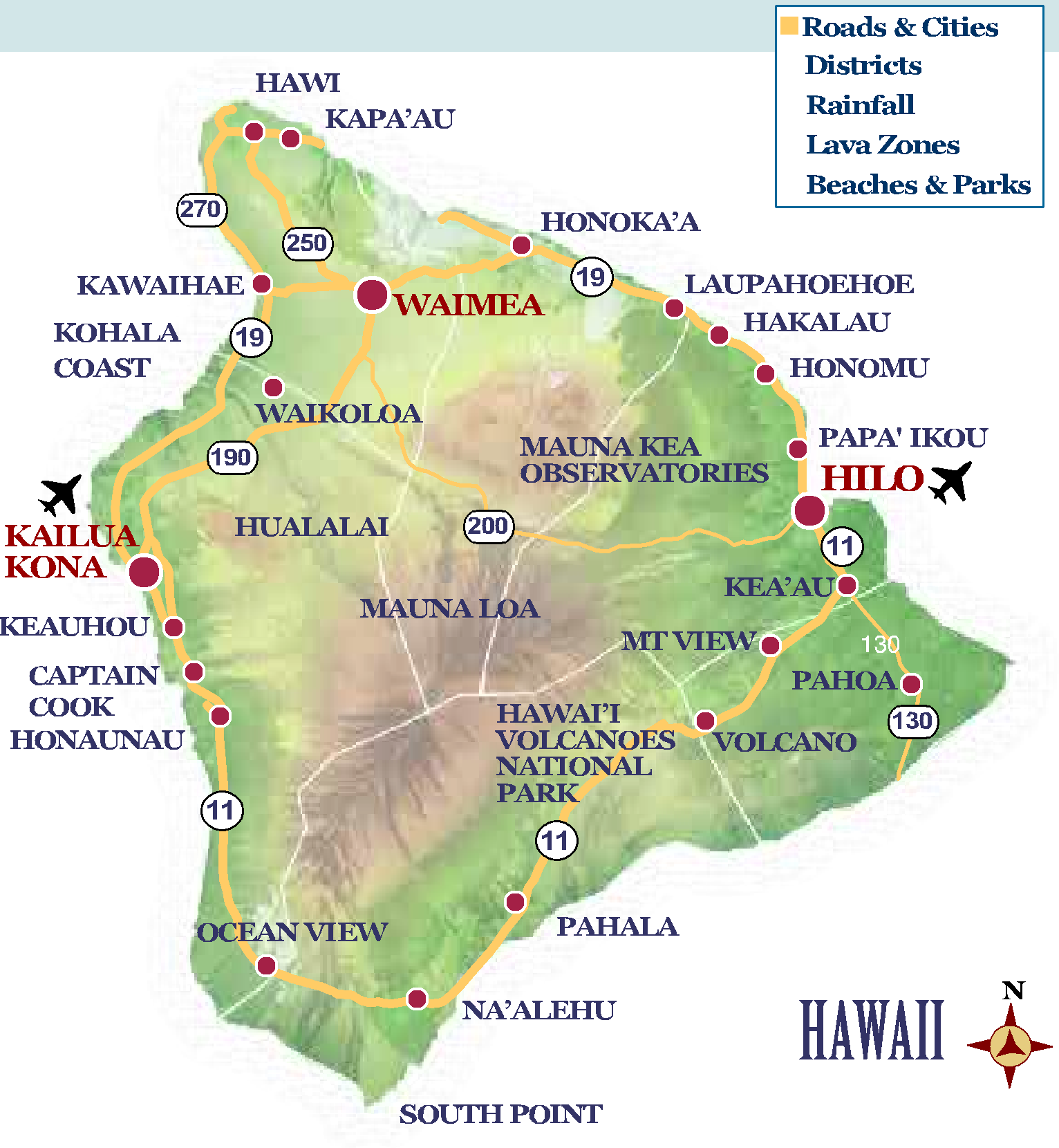 south point hawaii map Cocoa 2010 Homepage
